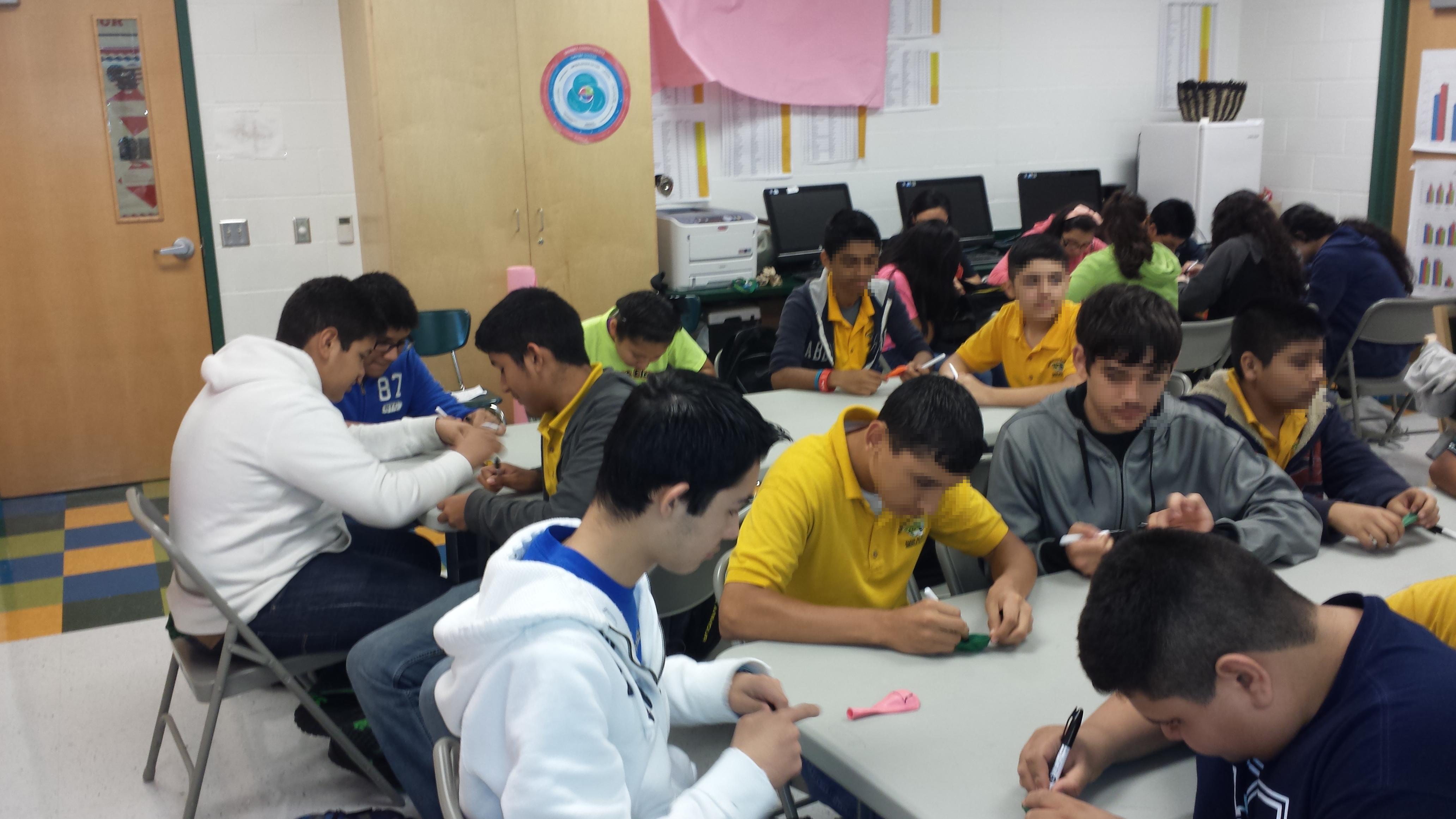 Audie Murphy Middle School Experimental Algebra And